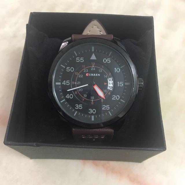 皮質手錶 (含運)
