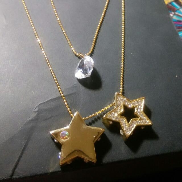 小店購入 星星長雙鍊