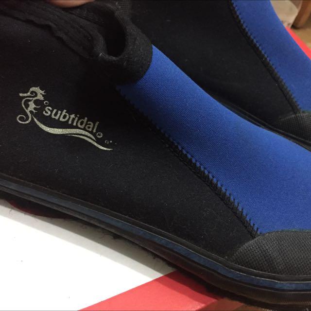二手 潛水鞋 套鞋 膠鞋
