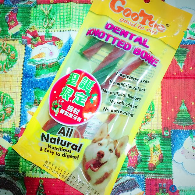 寵物零食 潔牙 聖誕拐杖 聖誕限定