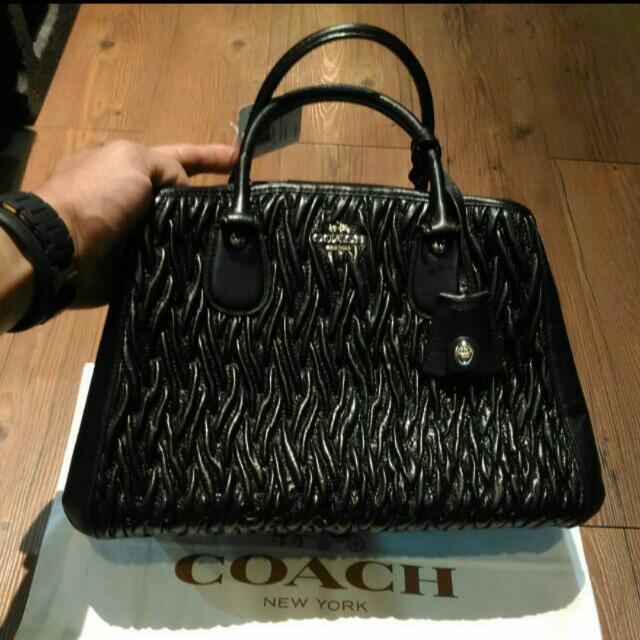 全新正品 COACH麥迪遜包 美國專櫃購回,現貨一個 台灣專櫃售19000