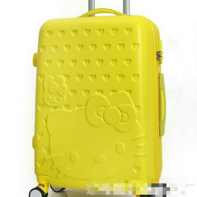 👑預購_kt萬向輪拉桿行李箱