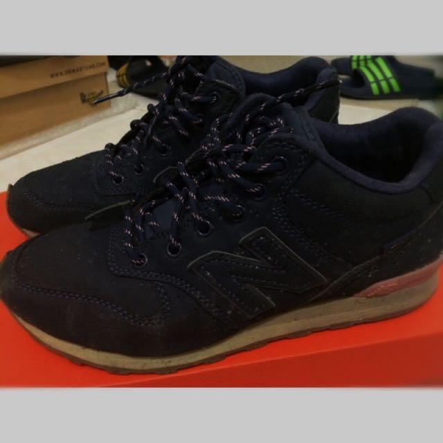 正品 NB996 藍紫色鞋