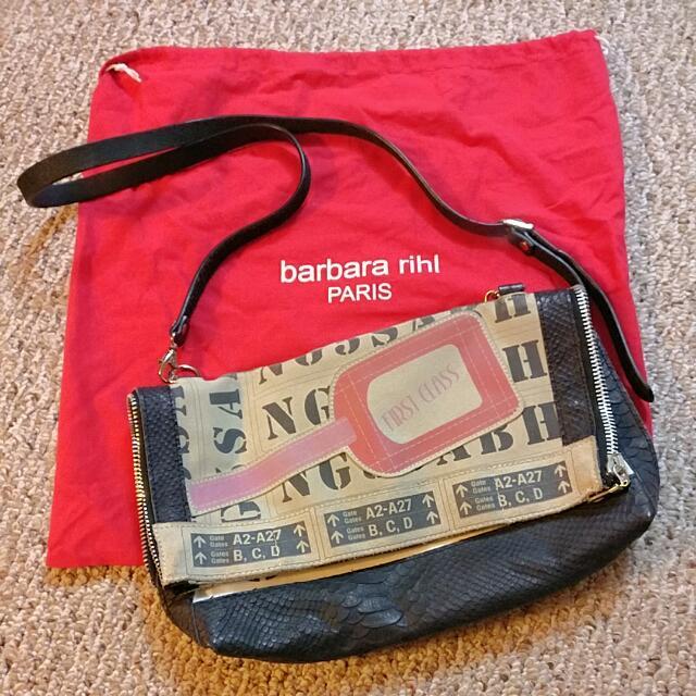 Barbara Rihl First Class Crossbody Purse