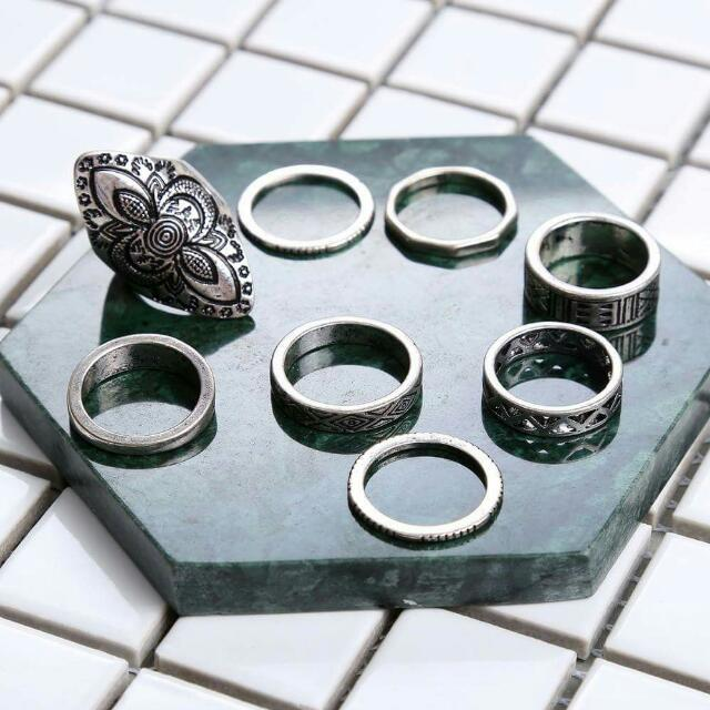 Bohemian Rings set