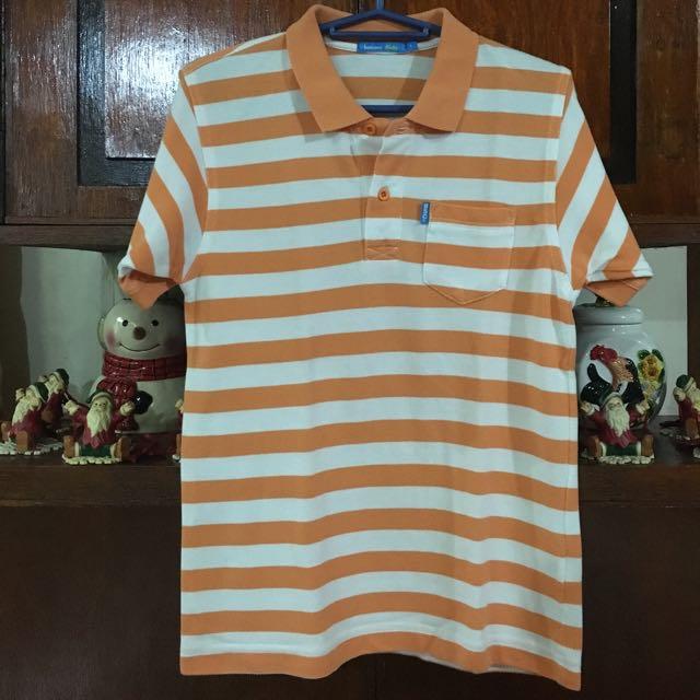 👱🏻Bossini Orange Polo Shirt