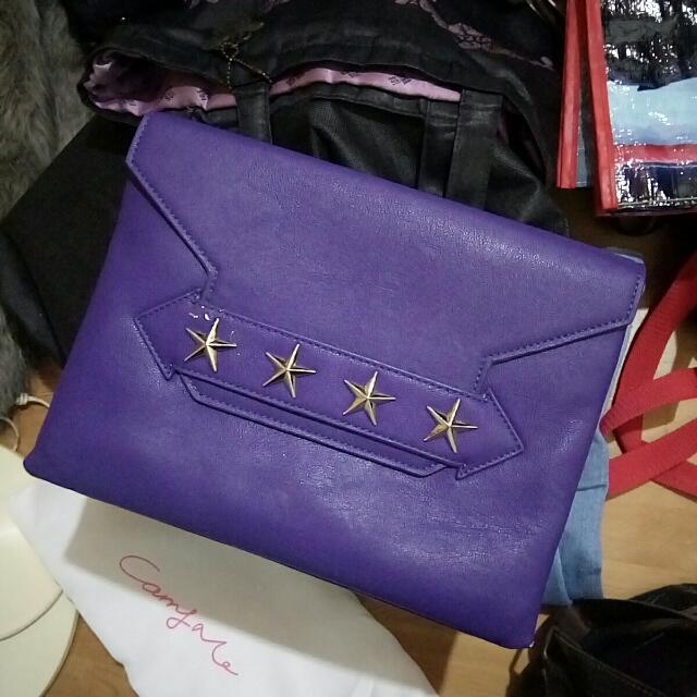 CARRY Me紫色包包