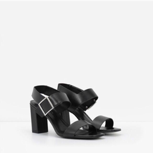 Charles & Keith Heels in Black