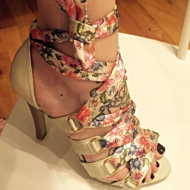 COLCCI silk wrap Sandals