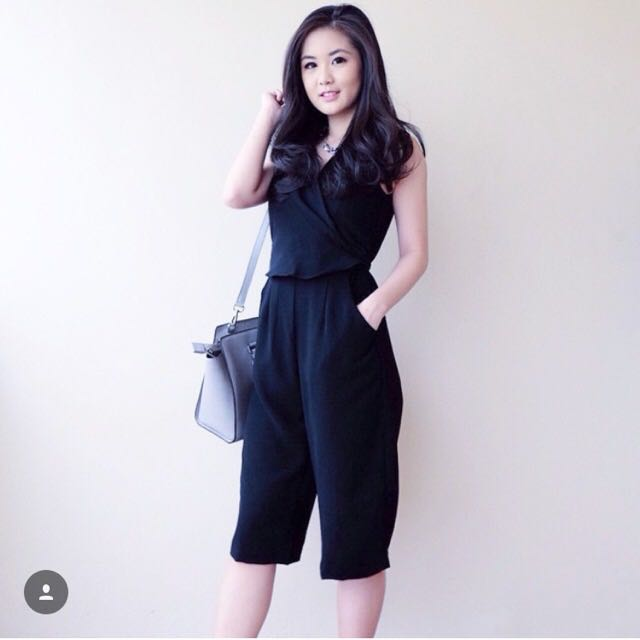 Cullotes Jumpsuit Black