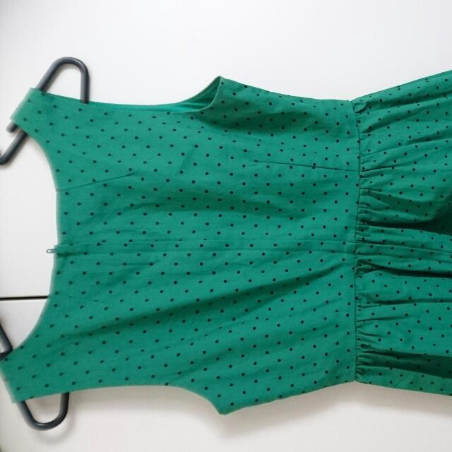 Dangerfield spotted dress