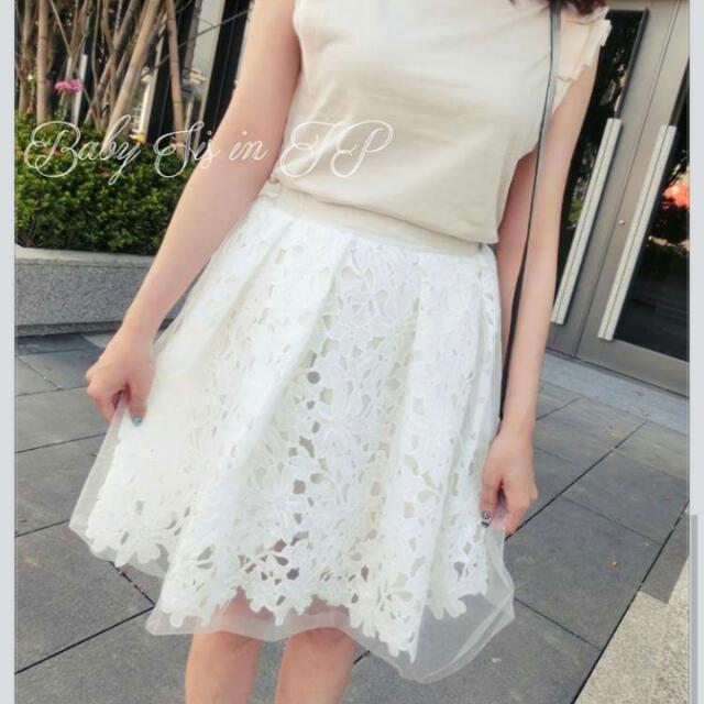 Dazzlin 浪漫氣質布雷斯紗裙