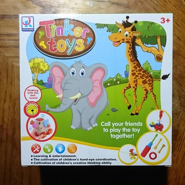 幼兒DIY 鎖螺絲 組裝玩具