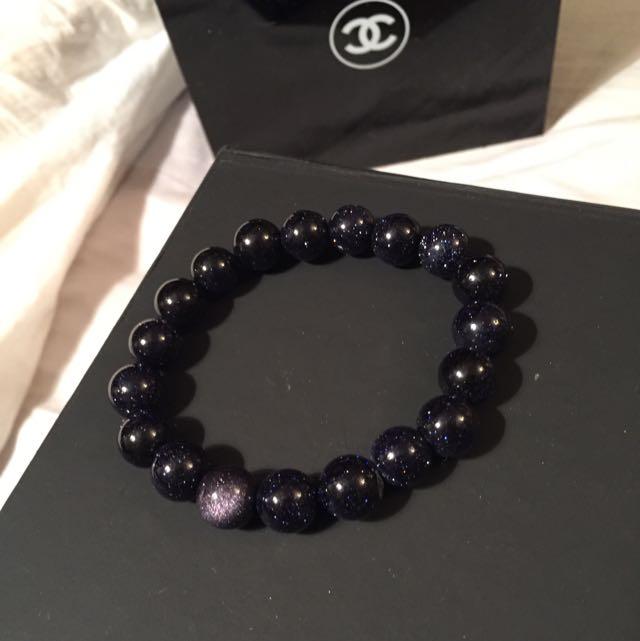 Galaxy Sparkled Beads Bracelet