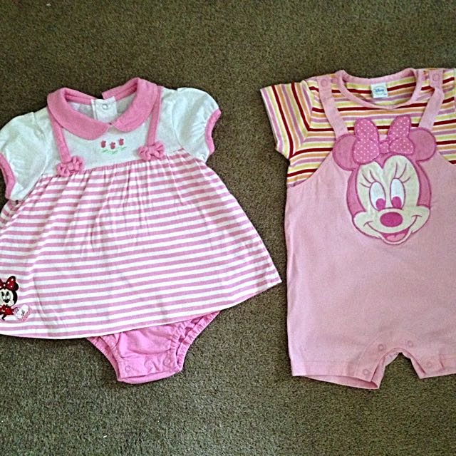 Genuine Disney Size 00 Girl Outfits