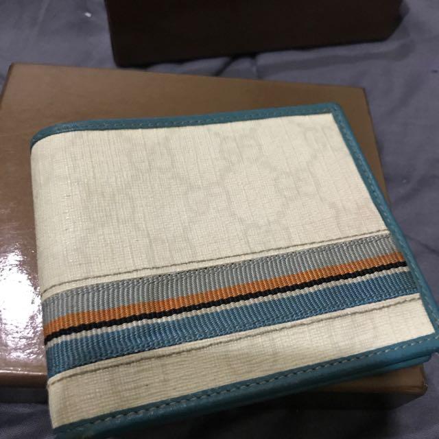 gucci wallet blue