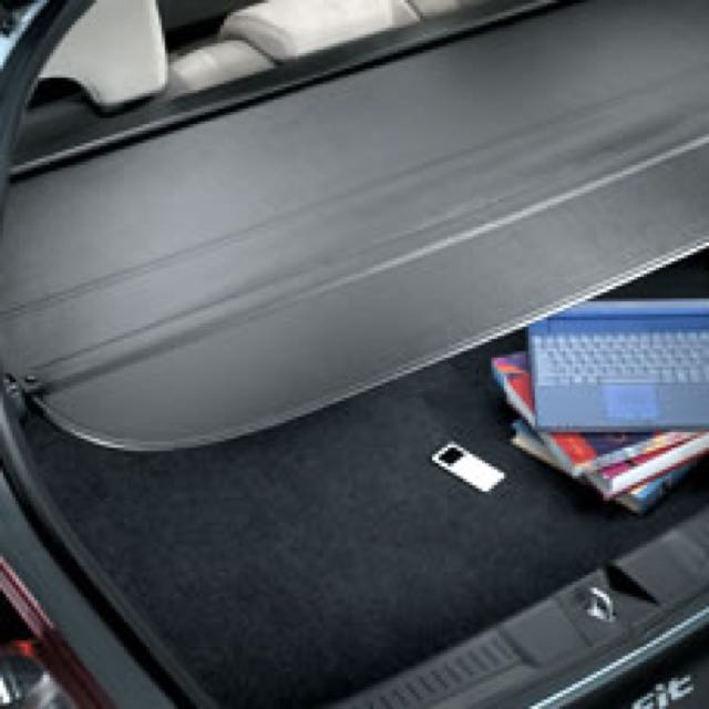 Honda Fit / Jazz Trunk Cover Or Cargo Cover, Car Accessories On Carousell