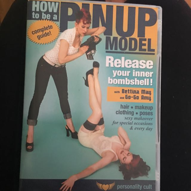 How To Be A Pinup Model DVD Hair Makeup Clothing Poses