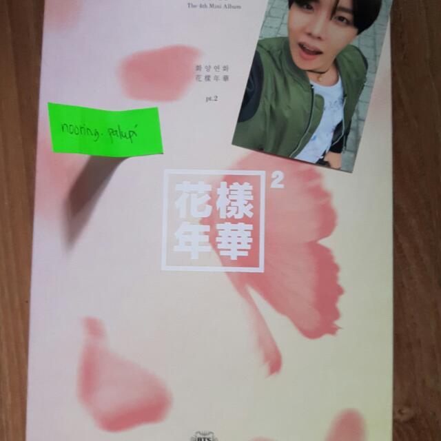 HYYH Pt. 2 Pink Version Photocard: J-Hope