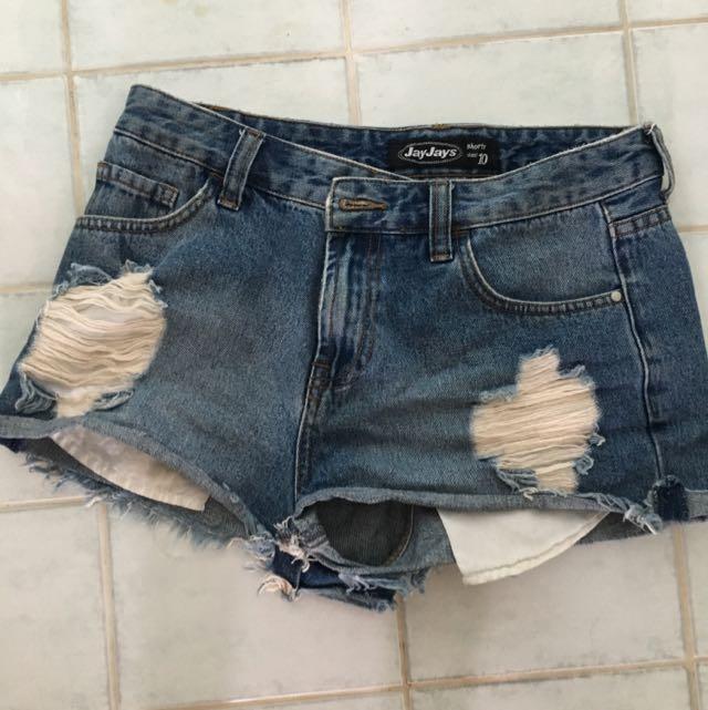 Jayjays Size 10 Denim Shorts