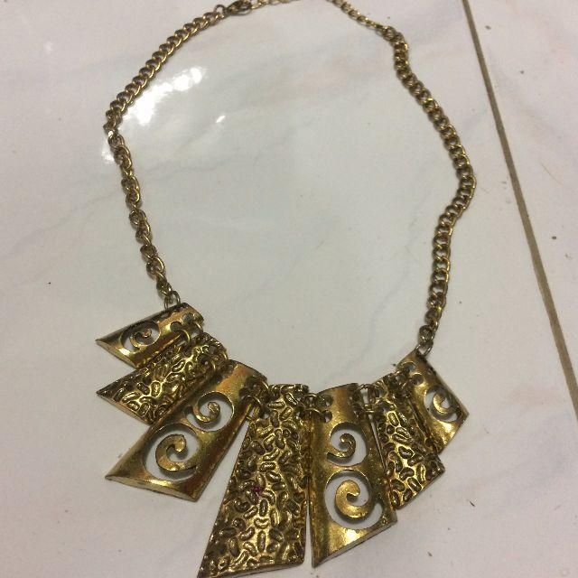 Kalung Fashio Wanita - Gold