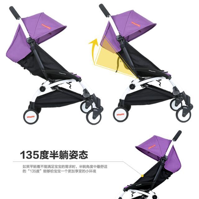 Kiddopotamus Lightweight Travel Baby Stroller