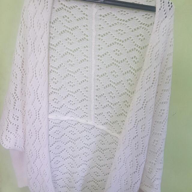 Lace Cardigan (Unbranded) - Cardigan Outer Bahan Lace