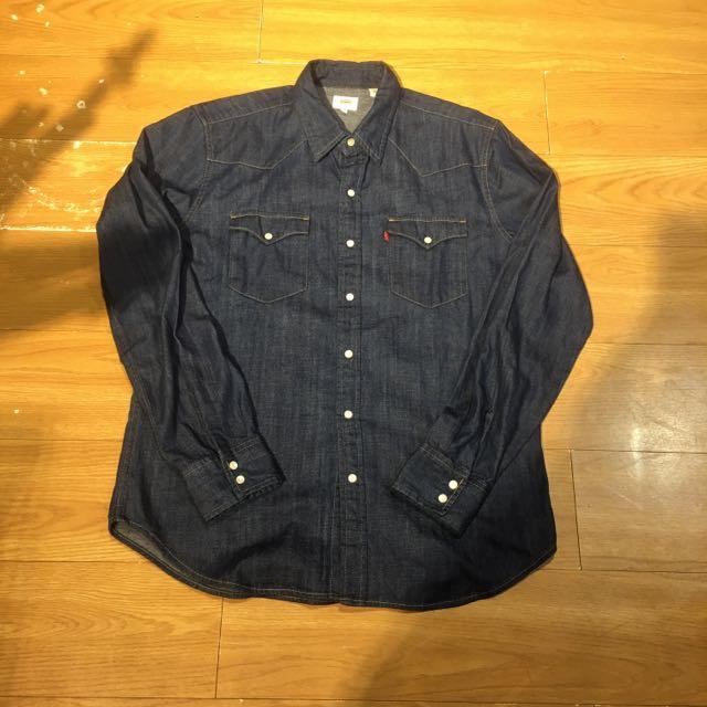 Levi's 原色牛仔襯衫 L號