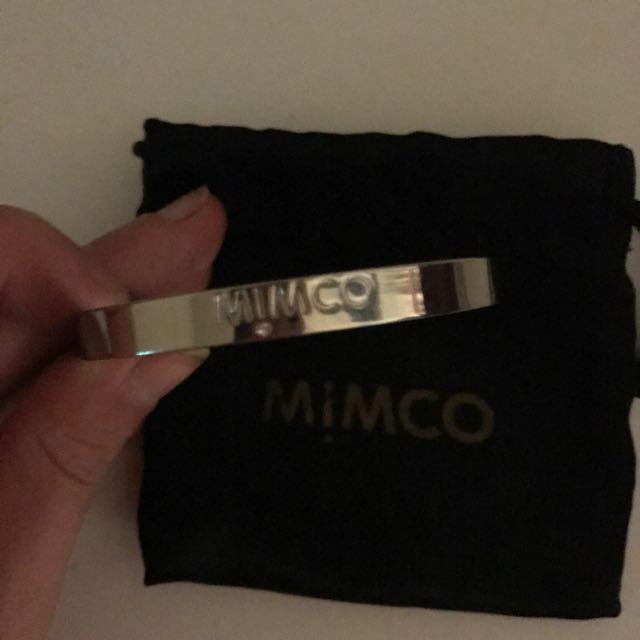 Mimco Silver Bracelet / Bangle