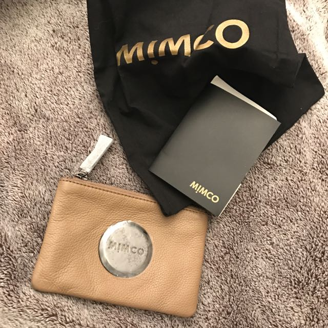Mimco Small Leather Pouch