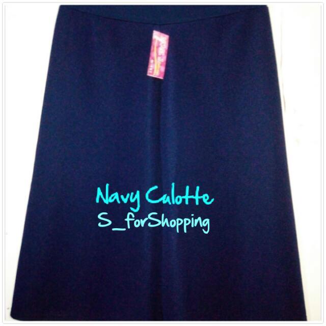 Navy Culotte (7/8)