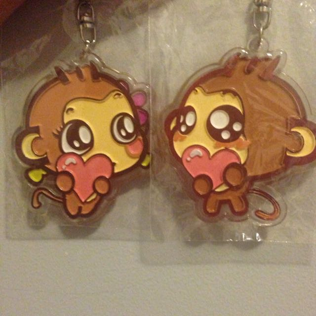 New Couple Keychains
