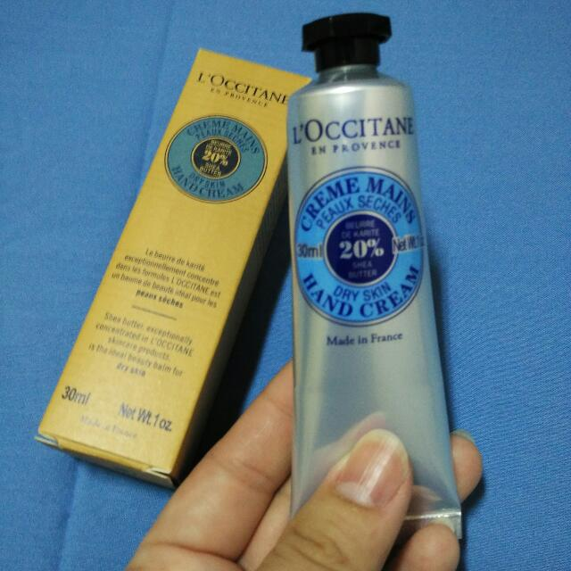 (New) L'occitane Hand Cream