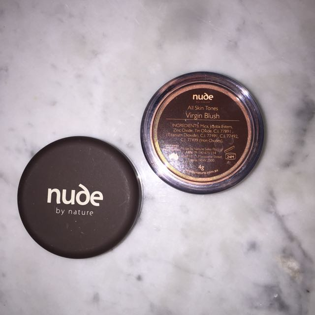 """Nude By Nature """"Virgin Blush"""" 4g"""