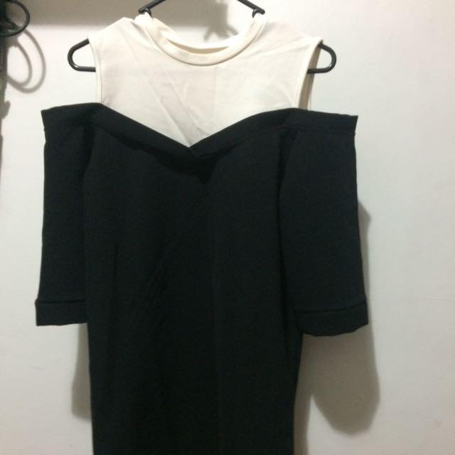 Off Shoulder Dress from Korea