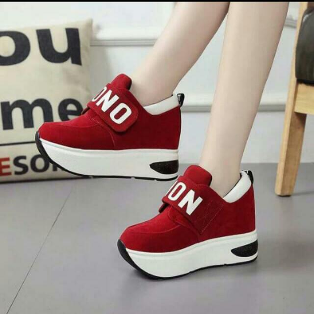 Repriced onhand korean shoes red/ Free shipping
