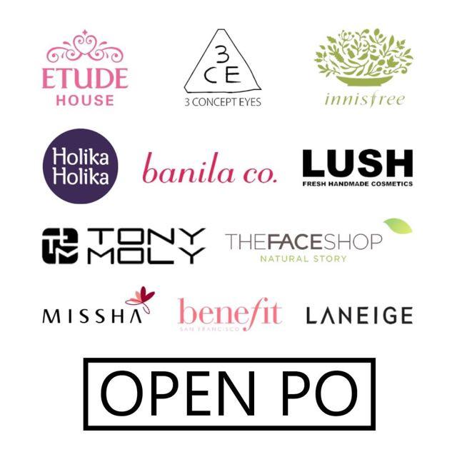 open PO korean makeup 🙂