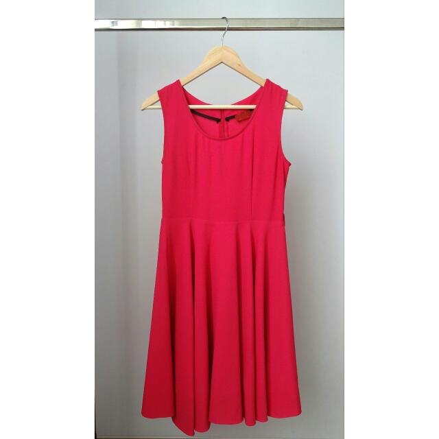 Original - ELLE Fuschia Dress