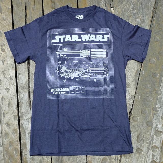 Original Imported Band T-Shirt (Star Wars - Sabr Diagram)