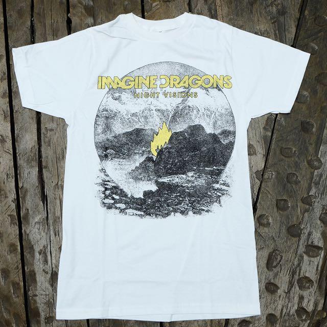 Original Imported Band T-Shirt (Imagine Dragon - Flame)