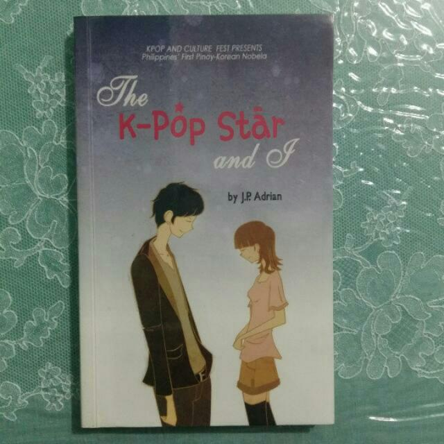 PRELOVED BOOK. THE KPOP STAR AND I
