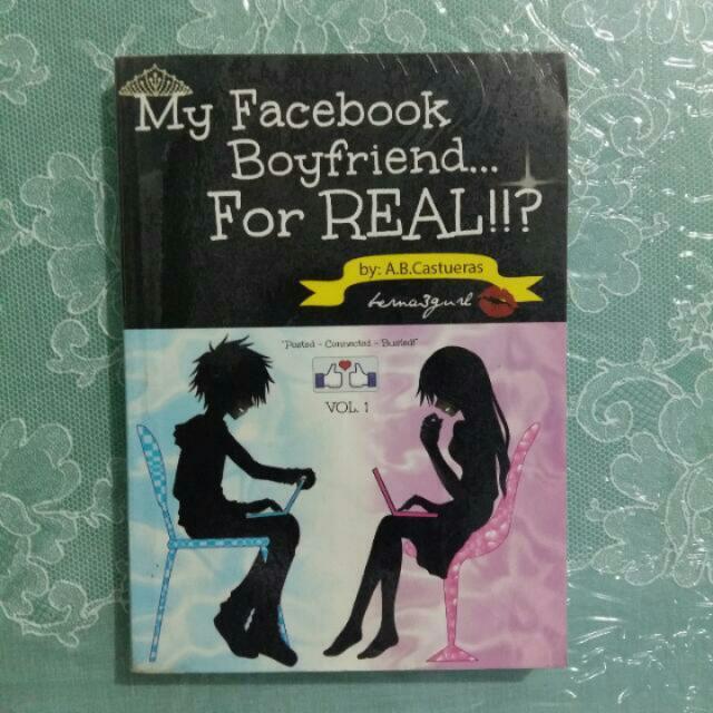 PRELOVED WATTPAD BOOK. MY FACEBOOK BOYFRIEND FOR REAL?!