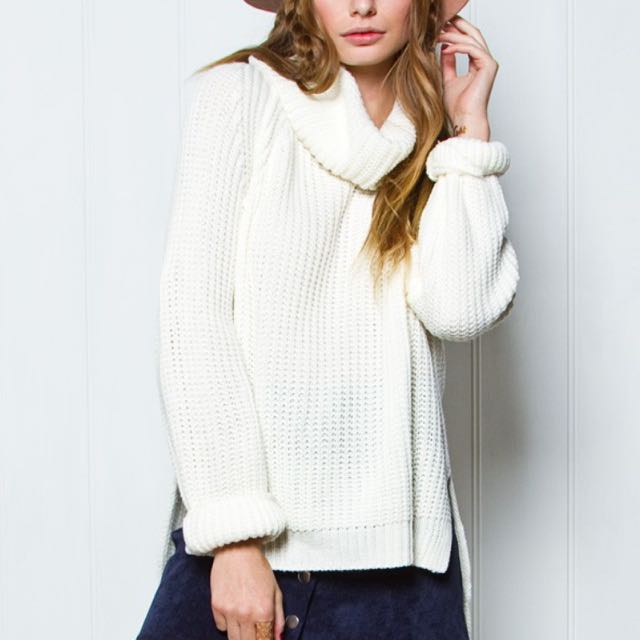 princess polly turtle neck knit