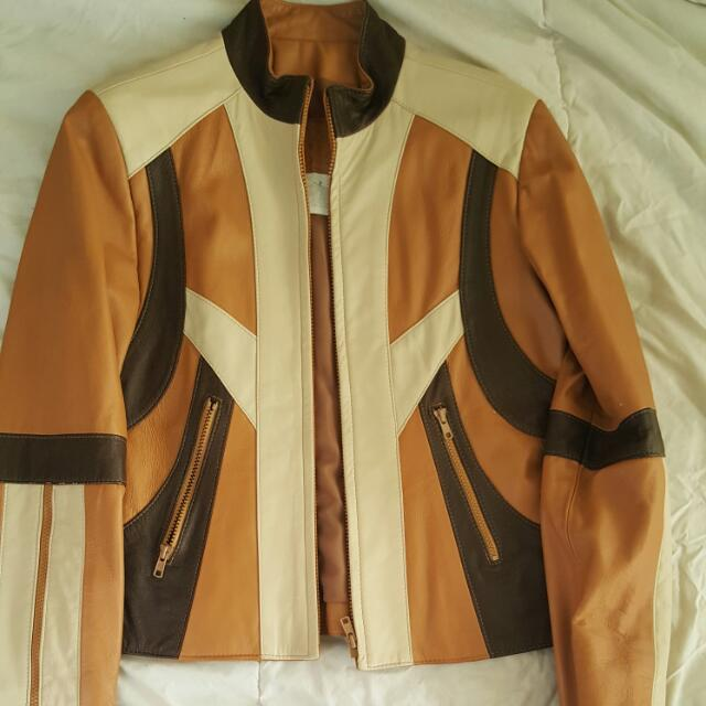 Real Leather Jacket was Brought For $500 And Never Been Wore