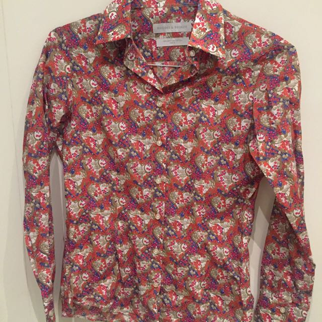 Rhodes & Beckett - Patterned Shirt
