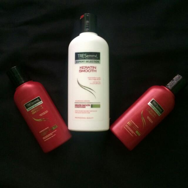 Shampoo And Conditioner Tresemme Keratin Smooth