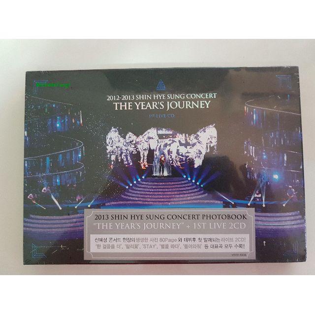 SHINHWA Shin Hye Sung The Years Journey Photobook + CD