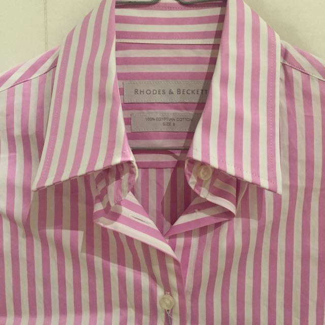 Shirt - Rhodes & Beckett - Pink Strip