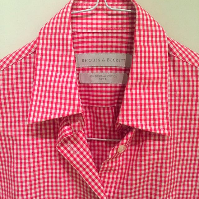 Shirt - Rhodes & Beckett - Small Checked