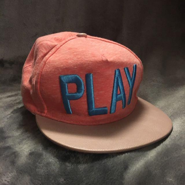 Snapback Cap - PLAY